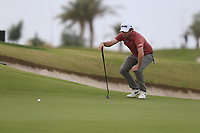 Cormac Sharvin (NIR) on the 7th green during the 2nd round of  the Saudi International powered by Softbank Investment Advisers, Royal Greens G&CC, King Abdullah Economic City,  Saudi Arabia. 31/01/2020<br /> Picture: Golffile | Fran Caffrey<br /> <br /> <br /> All photo usage must carry mandatory copyright credit (© Golffile | Fran Caffrey)
