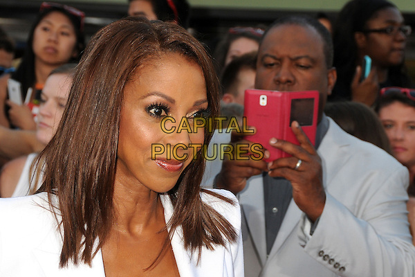 10 June 2014 - Westwood, California - Holly Robinson Peete, Rodney Peete. &quot;22 Jump Street&quot; Los Angeles Premiere held at the Regency Village Theatre. <br /> CAP/ADM/BP<br /> &copy;Byron Purvis/AdMedia/Capital Pictures
