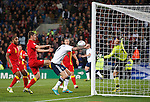 Steven Fletcher heads in to score but his goal is disallowed