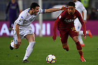 Manuel Pasqual of Empoli and Justin Kluivert of AS Roma <br /> Roma 11-3-2019 Stadio Olimpico Football Serie A 2018/2019 AS Roma - Empoli<br /> Foto Andrea Staccioli / Insidefoto
