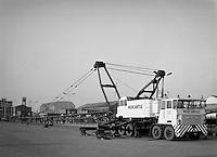 Februari 1964. Kraan van Mercantile Marine Engineering.