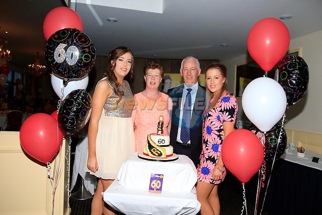 LoLO Robinson 60th<br /> Ciara Orla paddy Robinson<br /> Picture:  www.newsfile.ie