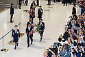 Nadeshiko Japan women's soccer team arrives home after World Cup