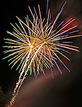 Fireworks at the Huntsville Stars.  Bob Gathany.