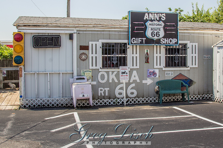 Ann's Chicken Fry House on Route 66 in Oklahoma City.  The building was a Cities Service Gas Station in 1948, which became  Three Bulls Steak House in 1966, and then Ann's in 1971.