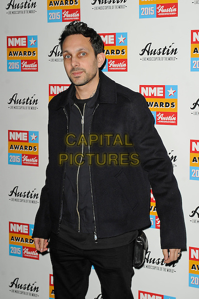 LONDON, ENGLAND - FEBRUARY 18: Dynamo attending the NME Awards at Brixton Academy on February 18 2015 in London, England.<br /> CAP/MAR<br /> &copy; Martin Harris/Capital Pictures