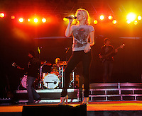 Kellie Pickler performs during the sixth day of the Summer Celebration in Muskegon. Photo available for purchase - call 231-725-6386. (Kristin Eberts/Muskegon Chronicle).