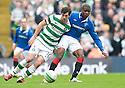 :: CELTIC'S JOE LEDLEY AND RANGERS' MAURICE EDU CHALLENGE ::