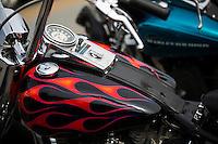 NWA Democrat-Gazette/JASON IVESTER<br /> Bikes, Blues &amp; BBQ on Thursday, Sept. 24, 2015, in Fayetteville