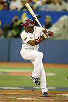 March 7, 2009:  Endy Chavez (47) of Venezuela during the first round of the World Baseball Classic at the Rogers Centre in Toronto, Ontario, Canada.  Venezuela defeated Italy 7-0 in both teams opening game of the tournament.  Photo by:  Mike Janes/Four Seam Images