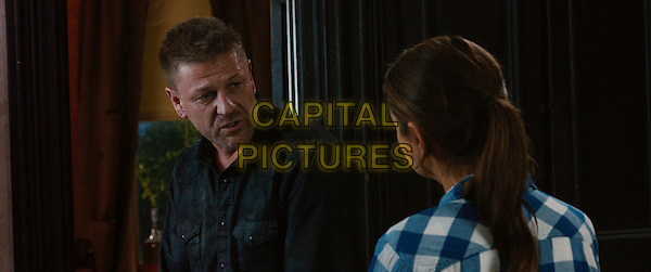 Sean Bean, Mila Kunis<br /> in Jupiter Ascending (2015) <br /> *Filmstill - Editorial Use Only*<br /> CAP/NFS<br /> Image supplied by Capital Pictures