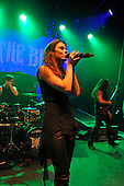 BEYOND THE BLACK - vocalist Jennifer Haben - performing live at the Empire in Shepherds Bush London UK - 03 Feb 2017.  Photo credit: Zaine Lewis/IconicPix