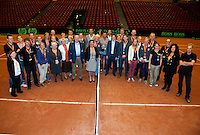 15-sept.-2013,Netherlands, Groningen,  Martini Plaza, Tennis, DavisCup Netherlands-Austria, management team  <br /> Photo: Henk Koster