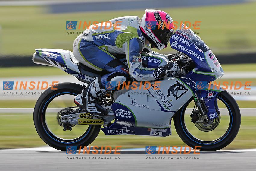 .26-10-2012 Phillip Island (AUS).in the picture: Giulian Pedone - Ambrogio Next racing .Foto Insidefoto / Semedia