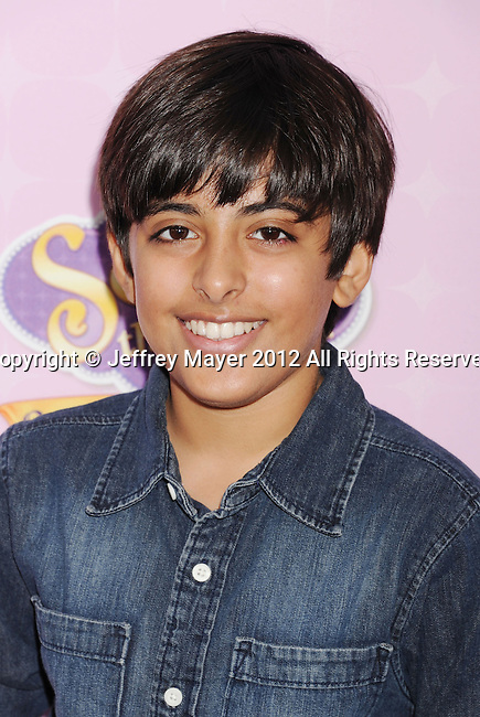 "BURBANK, CA - NOVEMBER 10: Karan Brar arrives at the Disney Channel's Premiere Party For ""Sofia The First: Once Upon A Princess"" at the Walt Disney Studios on November 10, 2012 in Burbank, California."
