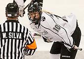 Molly Illikainen (PC - 10) - The Northeastern University Huskies defeated the visiting Providence College Friars 8-7 on Sunday, January 20, 2013, at Matthews Arena in Boston, Massachusetts.