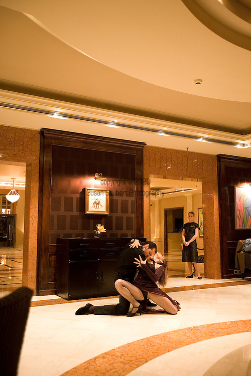 Tango Demonstration, Four Seasons Hotel, Buenos Aires