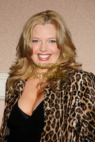 MELISSA PETERMAN.The WB Network's 2006 All Star Party  at Ritz Carlton Huntington Hotel. .January 16th, 2006.Photo: William Scott/AdMedia/Capital Pictures.Ref: WS/ADM.headshot portrait leopard print.www.capitalpictures.com.sales@capitalpictures.com.© Capital Pictures.