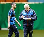 Andy Halliday and Mark Warburton