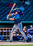 18 July 2018: Trenton Thunder outfielder Zack Zehner in action against the New Hampshire Fisher Cats at Northeast Delta Dental Stadium in Manchester, NH. The Fisher Cats defeated the Thunder 3-2 in a 7-inning, second game of the day. Mandatory Credit: Ed Wolfstein Photo *** RAW (NEF) Image File Available ***