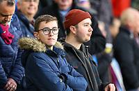 Burnley fans anticipate the kick off<br /> <br /> Photographer Alex Dodd/CameraSport<br /> <br /> The Premier League - Burnley v West Ham United - Sunday 30th December 2018 - Turf Moor - Burnley<br /> <br /> World Copyright © 2018 CameraSport. All rights reserved. 43 Linden Ave. Countesthorpe. Leicester. England. LE8 5PG - Tel: +44 (0) 116 277 4147 - admin@camerasport.com - www.camerasport.com