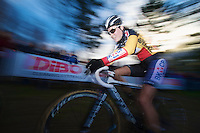 Belgian Champion Sanne Cant (BEL)<br /> <br /> GP Sven Nys 2014 / Elite Women