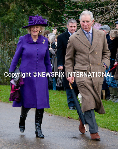 "ROYALS ATTEND CHRISTMAS DAY SERVICE.Members of the royal family attend Christmas Day Church Service at St. Mary Magdalene's on the Sandringham Estate..They included The Queen, Prince Philip, Prince Charles, Camilla, Duchess of Cornwall, Princess Anne, Prince Edward, Sophie, Countess of Wessex, Lady Louise, Prince Andrew, Zara Phillips, Mike Tindall, Peter Phillips and Autumn Kelly_25/12/2012.Kate and Prince William broke with tradition and did not attend..©NEWSPIX INTERNATIONAL..Mandatory credit photo:NEWSPIX INTERNATIONAL(Failure to credit will incur a surcharge of 100% of reproduction fees)..**ALL FEES PAYABLE TO: ""NEWSPIX  INTERNATIONAL""**..Newspix International, 31 Chinnery Hill, Bishop's Stortford, ENGLAND CM23 3PS.Tel:+441279 324672.Fax: +441279656877.Mobile:  07775681153.e-mail: info@newspixinternational.co.uk"