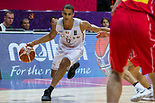 7th September 2017, Fenerbahce Arena, Istanbul, Turkey; FIBA Eurobasket Group D; Belgium versus Serbia; Small Forward Jean Salumu #12 of Belgium drives to the basket during the match