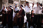 Palestinians take part  in Palestinian Heritage day festival in the West Bank city of Hebron on October 07,2010. the festival was organized by Hebron rehabilitation committee and this festival is a part of Amar Ya Baladna camping to support the old city of Hebron. Photo by Najeh Hashlamoun