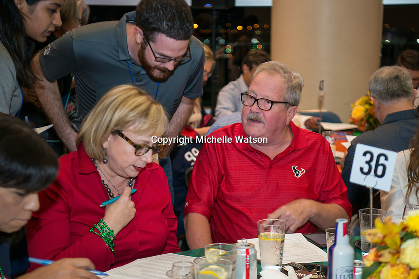 Today's Harbor For Children hosts Fantasy Football Draft at NRG Stadium