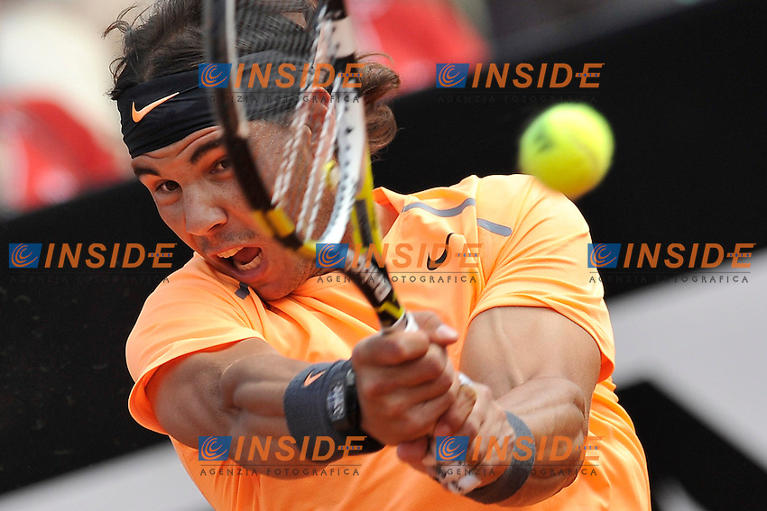 Rafael Nadal of Spain.Roma 19/05/2012 Foro Italico.Tennis Internazionali d'Italia.Foto Insidefoto Antonietta Baldassarre