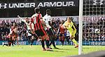 Vincent Janssen scores Tottenham's 4th during the English Premier League match at the White Hart Lane Stadium, London. Picture date: April 15th, 2017.Pic credit should read: Chris Dean/Sportimage