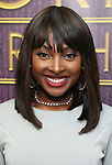 """Loren Lott backstage after a Song preview performance of the Bebe Winans Broadway Bound Musical """"Born For This"""" at Feinstein's 54 Below on November 5, 2018 in New York City."""