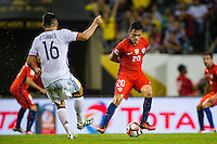 Chicago, IL - Wednesday June 22, 2016: Charles Aranguiz during a Copa America Centenario semifinal match between Colombia (COL) and Chile (CHI) at Soldier Field.