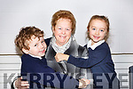 Carmel Turner from Tralee with her grandson AJ and granddaughter Yvie Ross Turner at the Blennerville National schools Grandparents day on Friday last