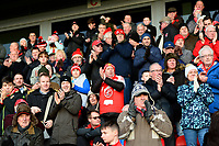 Fleetwood Town fans applaud their side<br /> <br /> Photographer Richard Martin-Roberts/CameraSport<br /> <br /> The EFL Sky Bet League One - Fleetwood Town v Portsmouth - Saturday 29th December 2018 - Highbury Stadium - Fleetwood<br /> <br /> World Copyright &not;&copy; 2018 CameraSport. All rights reserved. 43 Linden Ave. Countesthorpe. Leicester. England. LE8 5PG - Tel: +44 (0) 116 277 4147 - admin@camerasport.com - www.camerasport.com