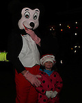 Santa arrives in Dunleer 2012
