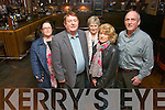 Dan Kiely from Tarbert who has announced his resignation from the Fianna Fail party in Kerry.<br /> Front L-R Dan and his partner Nuala Costello <br /> Back L-R Denis Kiely (brother), Jane Kiely (sister-in-law) and Denise Kiely (niece)