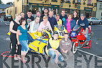 At the launch of the Athea motorcycle road race in Athea on Thursday night were..In front Darragh Murph, Mountcollins,..1st row from left, Andrew Murphy, Mountcollins, Liz Coughlan, Ardagh, Martin Murphy, Mount Collins (Madd Racing) Valerie Cremin, Killeedy, Timmy Shehan Athea, Aisling Geoghan, Templeglantine...2ed row Dave Broderick, Abbeyfeale, Paul Greaney Rathkeale, Pat Hays Athea, Conor Harnett Limerick (P.R.O. Madd Racing) Pa Moore Athea, Bertie Greaney Abbeyfeale, at the back is Mike Sheehan,.