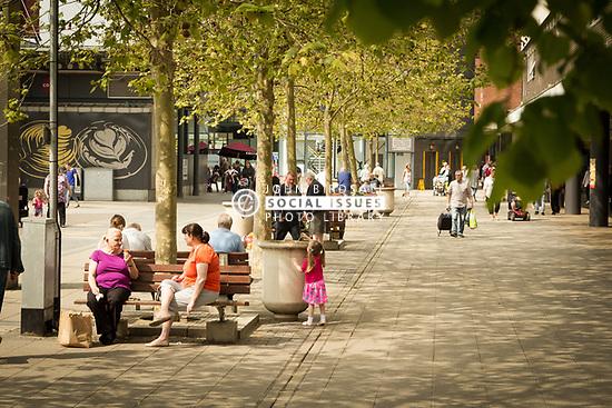 Basildon town centre, Essex UK