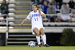 10 November 2012: Duke's Cassie Pecht. The Duke University Blue Devils played the Loyola University Maryland Greyhounds at Koskinen Stadium in Durham, North Carolina in a 2012 NCAA Division I Women's Soccer Tournament First Round game. Duke won the game 6-0.
