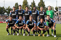 San Jose Earthquakes Starting Eleven. The San Jose Earthquakes tied the Columbus Crew 2-2 at Buck Shaw Stadium in Santa Clara, California on June 2nd, 2010.
