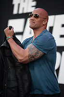 www.acepixs.com<br /> April 8, 2017  New York City<br /> <br /> Dwayne Johnson attending 'The Fate Of The Furious' New York premiere at Radio City Music Hall on April 8, 2017 in New York City.<br /> <br /> Credit: Kristin Callahan/ACE Pictures<br /> <br /> <br /> Tel: 646 769 0430<br /> Email: info@acepixs.com