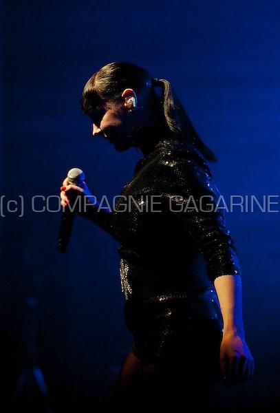 Miss Kittin & The Hacker's concert in the Ancienne Belgique, Brussels (Belgium, 28/04/2009)