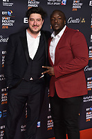 Marcus Mumford<br /> arriving for the BT Sport Industry Awards 2018 at the Battersea Evolution, London<br /> <br /> ©Ash Knotek  D3399  26/04/2018