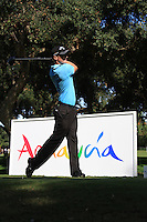 Alexander Noren (SWE) during the final day of the  Andalucía Masters at Club de Golf Valderrama, Sotogrande, Spain. .Picture Fran Caffrey www.golffile.ie