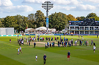 Fans show lots of interest in Kents record breaking wicket during Kent CCC vs Essex CCC, Specsavers County Championship Division 1 Cricket at the St Lawrence Ground on 20th August 2019