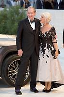 Helen Mirren &amp; Donald Sutherland at the &quot;The Leisure Seeker (Ella &amp; John)&quot; premiere, 74th Venice Film Festival in Italy on 3 September 2017.<br /> <br /> Photo: Kristina Afanasyeva/Featureflash/SilverHub<br /> 0208 004 5359<br /> sales@silverhubmedia.com