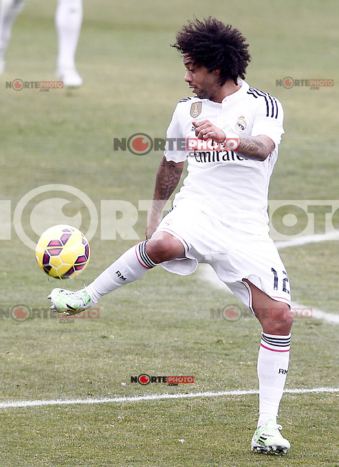 Real Madrid's Marcelo Vieira during La Liga match.January 18,2013. (ALTERPHOTOS/Acero) /NortePhoto<br />