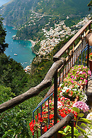"The Amalfi coast mountain "" Walk of the Gods""   around Nocelle, Positano, Italy"